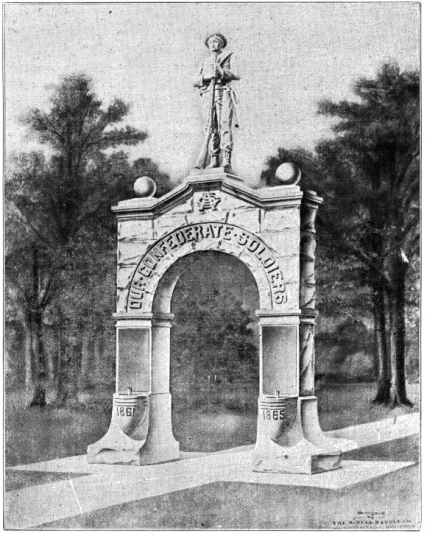 1918 UDC Confederate Soldier Memorial.