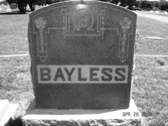 Farmer Bayless was buried in Denton's IOOF Cemetery with many other Denton luminaries… but is his restless spirit wandering elsewhere?