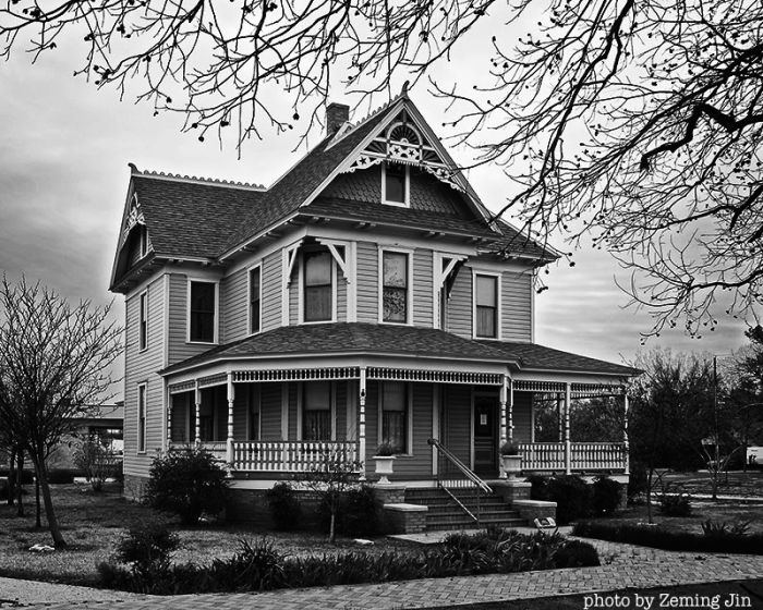 The Bayless-Selby House after it's restoration may still be home to lingering spirits!