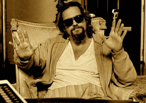 Hey, look, The Big Lebowski is, like, another Dude altogether, man… No relation.